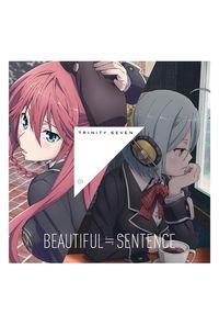 (CD)「トリニティセブン」エンディングテーマ1 BEAUTIFUL≒SENTENCE(DVD付き)
