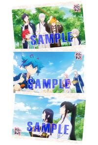 (BD/DVD)続「刀剣乱舞-花丸-」 其の三 Blu-ray 初回生産限定版 各巻特典:オリジナルポストカード