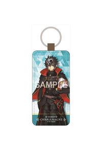 ゼクストワークス Fate/EXTELLA LINK レザーキーホルダー シャルルマーニュ